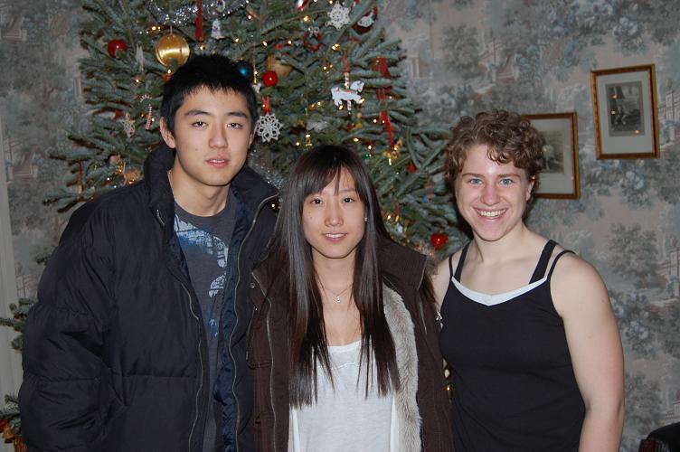 Rene & Vanessa at Christmas 2008