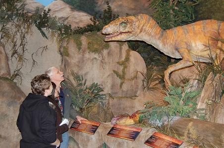 Vanessa at the Creation Museum
